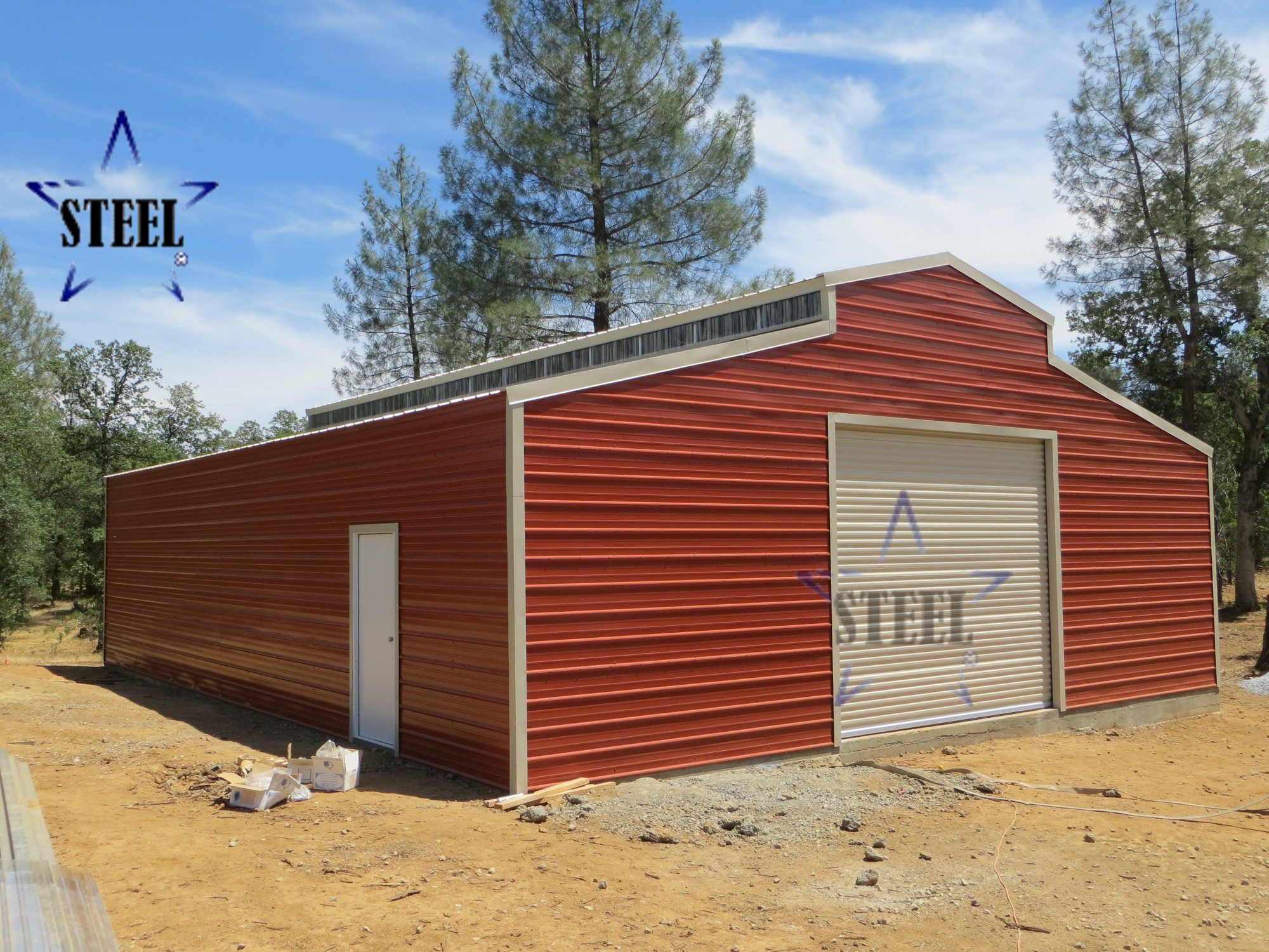 low cost barns bluestar steel buildings