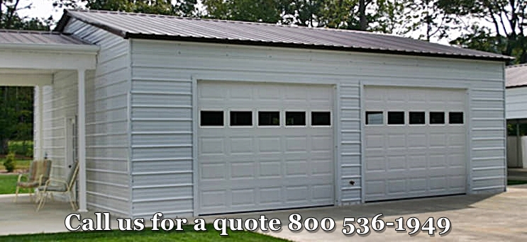 Low Cost Garages | BlueSTAR Steel Buildings